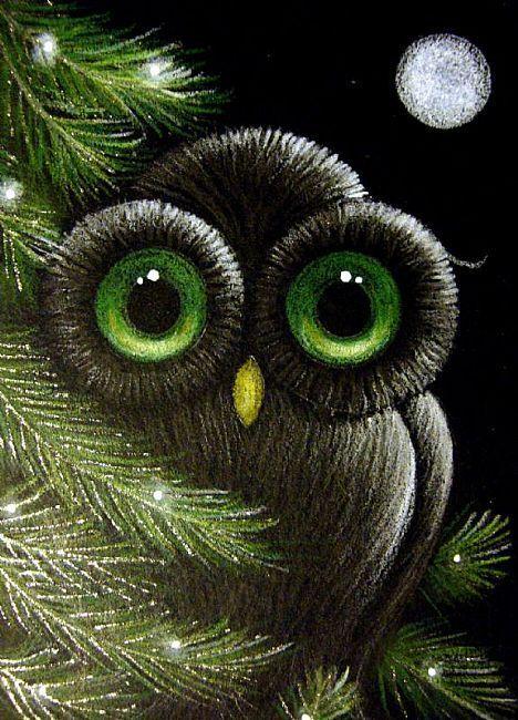 Google Image Result for http://www.ebsqart.com/Art/Gallery/Colored-Pencils-Pastels-Glitter/664922/650/650/FANTASY-OWL-HOLIDAY-1.jpg
