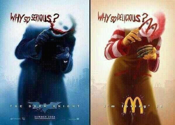 McDonald vs The Dark Knight
