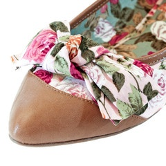 Stasia Florence Flat Shoes- Close Up View