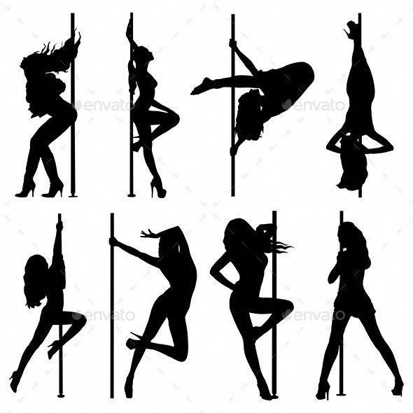 Pole Dance Women Silhouettes Poledancingclassesforbeginners Dance Silhouette Woman Silhouette Pole Dancing