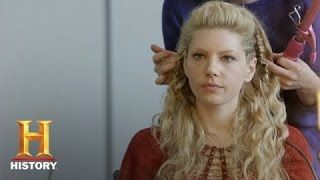 lagertha hair tutorial - YouTube                                                                                                                                                                                 More
