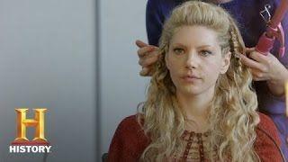 lagertha hair tutorial - YouTube