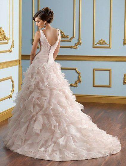 2013 Robe de mariée rose pâle  Robe de mariée  Pinterest