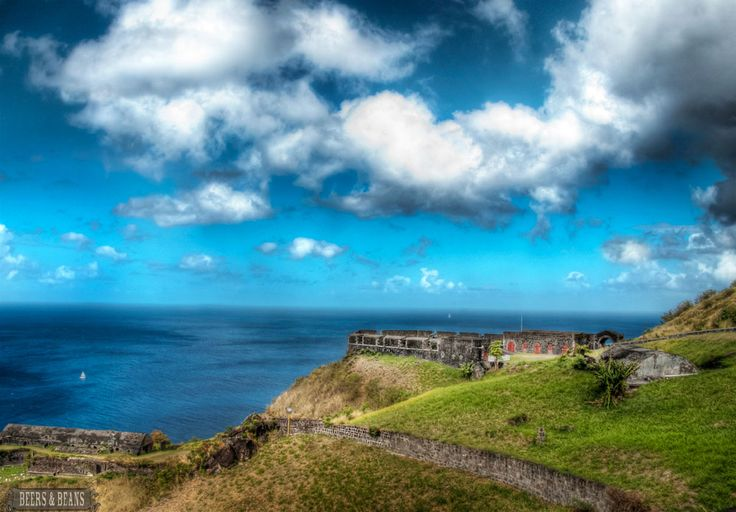 Brimstone Hill Fortress in St. Kitts>>> What a Killer View! >> Really stunning photo via Beers and Beans...
