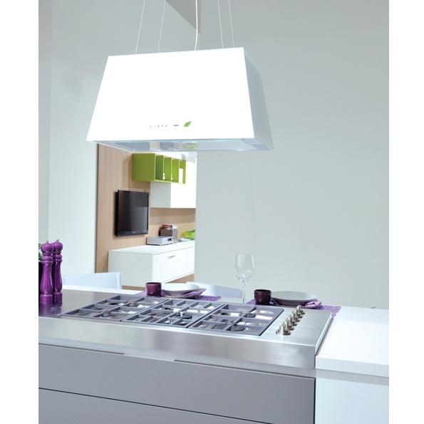 Lumière E.ion - Cappe Falmec - Cappe Moderne - Cappe aspiranti per cucina - Cappe di arredo in acciaio