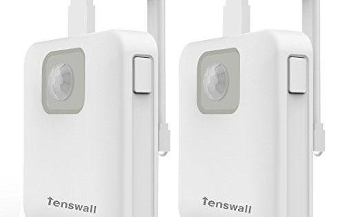 Tenswall Lampe de Toilette LED Veilleuse Capteur Détecteur avec 8 Changement de Couleurs,Un Créatif Toilet Bowl pour Chambre, Couloir,…