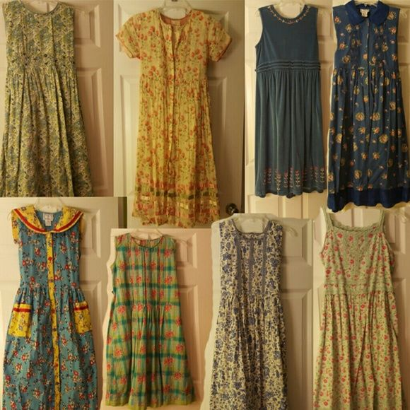 April Cornell Dresses, Skirt, Sweater & Petticoats *21 Pieces* April Cornell is a high-quality brand that designs vintage-style clothing. I am selling multiple pieces of clothing pictured for girls sizes 9-10 and 11-12. This is a bundle. April Cornell Dresses