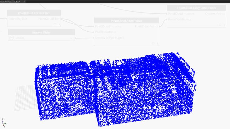 Point Clouds in Dynamo