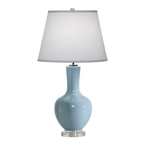 We love the lia table lamp ethanallen