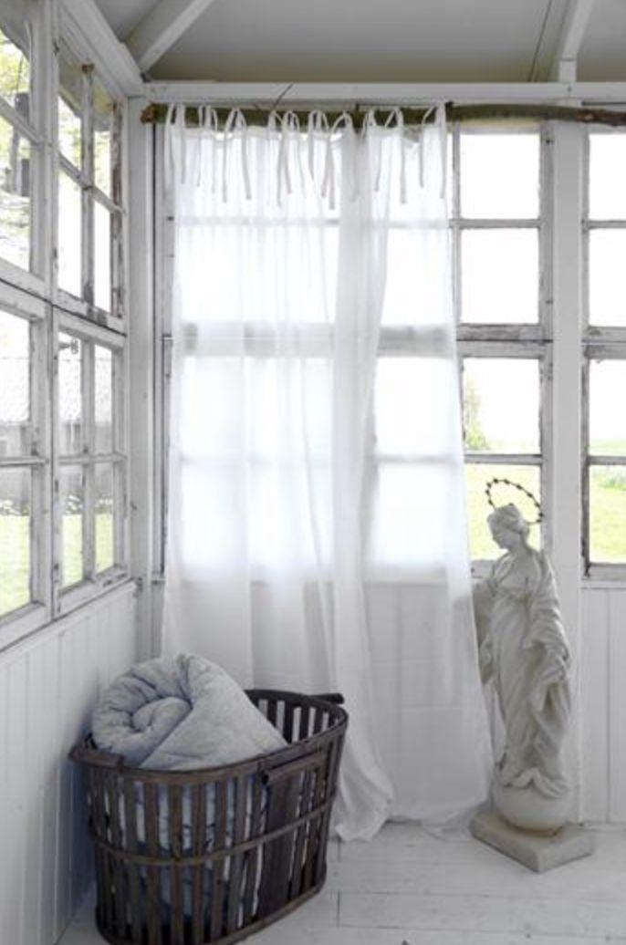 Prachtige gordijnen en plaids van Jeanne d'Arc Living.