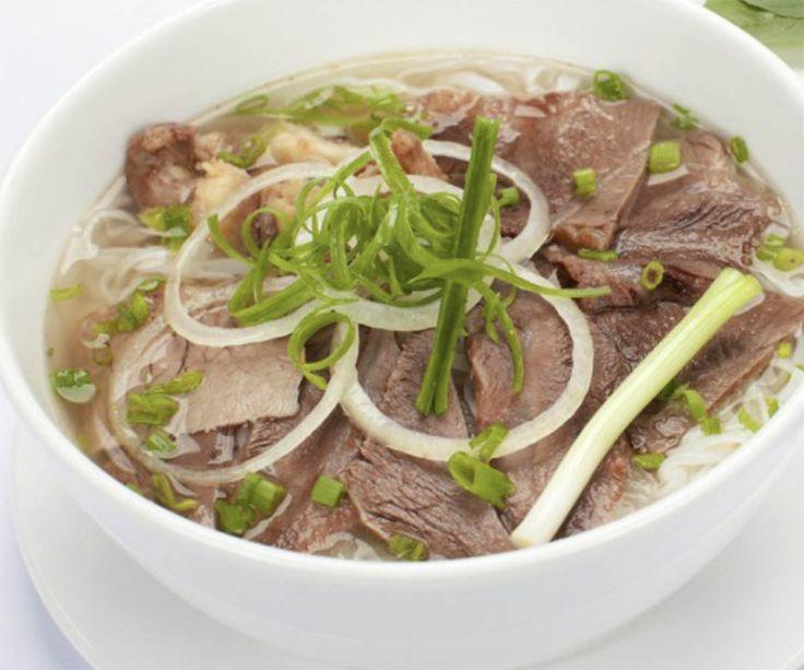 Recette: Soupe tonkinoise au boeuf.