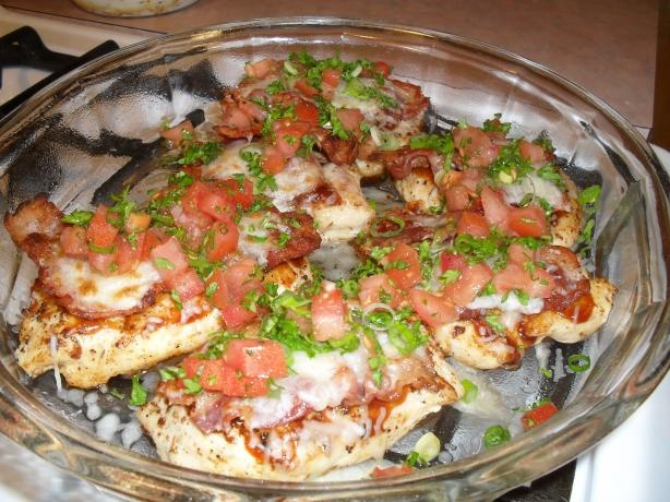 Chili's Monterey Chicken. This chicken was really great...used rotel tomatoes instead of fresh diced...