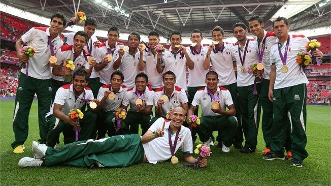 2012 Olympic Gold Medal winners in   Soccer.  Mexico!  Google Image Result for http://www.messinews.com/wp-content/uploads/2012/08/mexico-vs-brazil-gold-medal.jpg