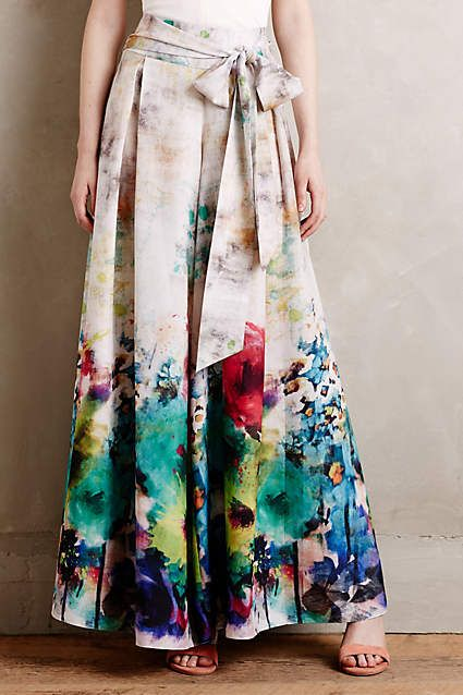 Impasto Wide-Legs - anthropologie.com