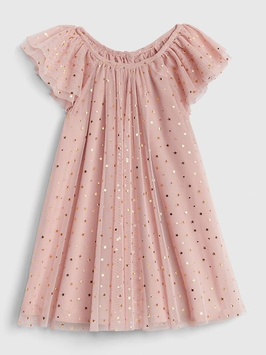 d4ac4f9af Gap Baby Foil Star Tulle Dress Pink Standard | Products | Baby girl dresses,  Dresses kids girl, Baby girl birthday dress