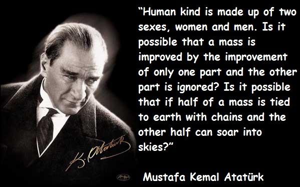 Ataturk - Such a smart man