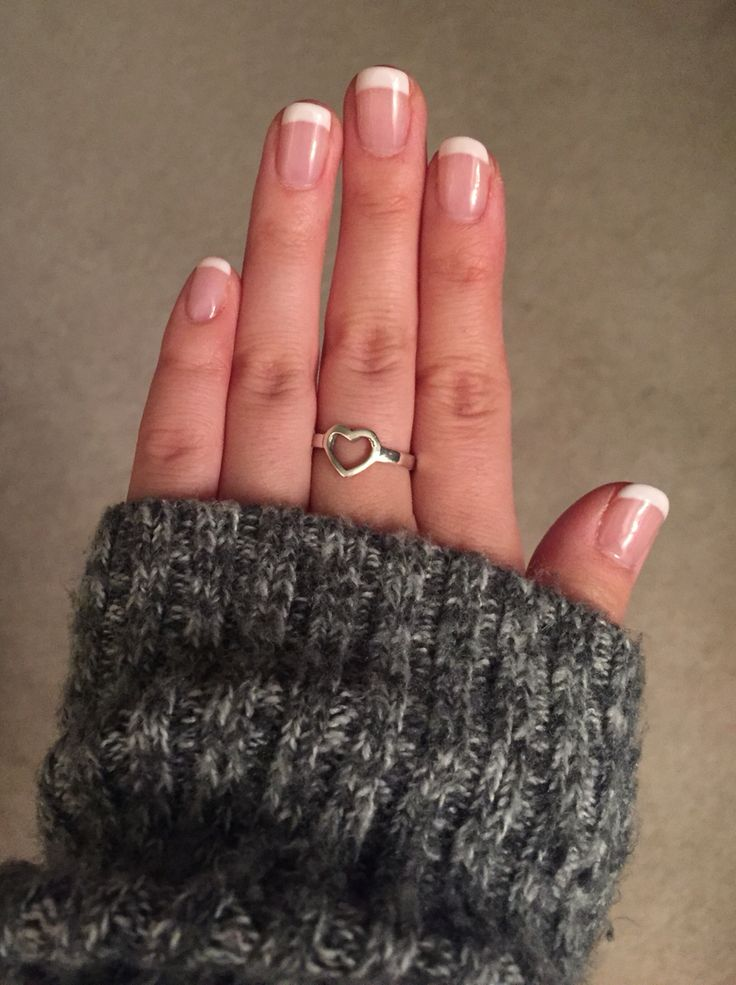 Gel French manicure. Go to Penelope at Charles penzone in Dublin!