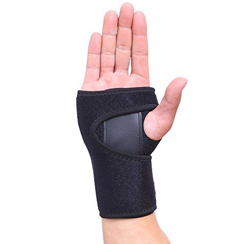 Wrist Brace, Aonsen Wrist Support Removable Wrist hand Splint Support Training Protector, Cushioned to Help With Carpal Tunnel and Relieve and Treat Wrist Pain124