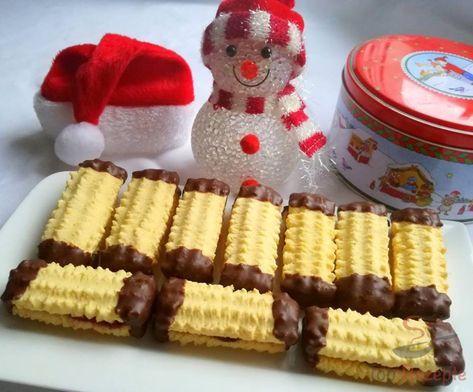 Pudding-Spritzgebäck für den Weihnachtstisch
