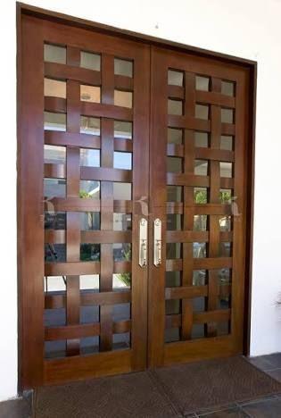 25 best ideas about puertas principales modernas on - Puertas de entrada principal ...