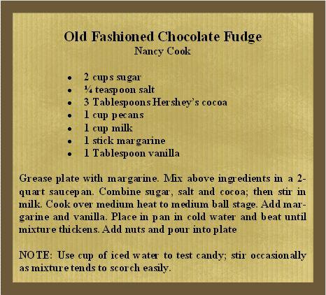 Old Fashioned Chocolate Fudge | 4 Safe Keeping | Pinterest
