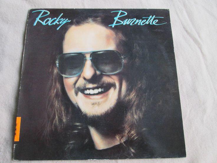 Rocky Burnette  Rocky Burnette  EMI EMC 3421 UK Vinyl LP Album