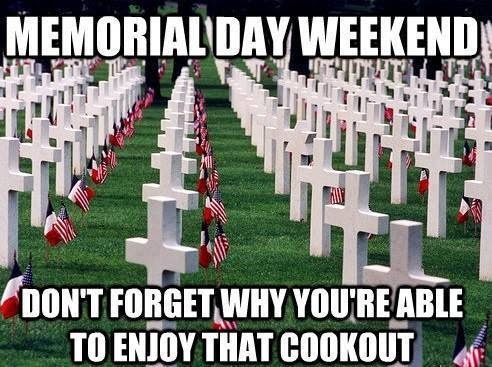 memorial weekend holiday 2014
