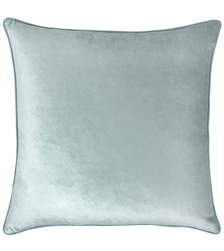 Lauren Ashley Furniture: Nigella Velvet Duck Egg - 50cm X 50cm - Cushions
