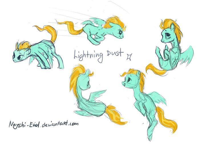 Mlp lightning dust r34