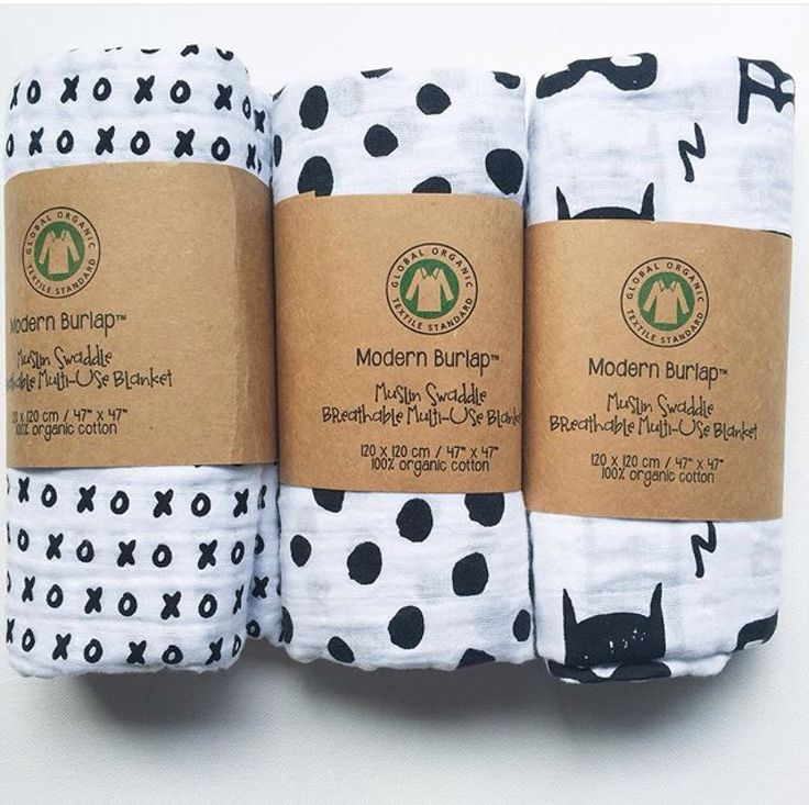 Simple | monochromatic | on trend |  Muslin wraps by Modern Burlap are in our store.  These are organic cotton and super cool!  www.sweetlittledreams,com.au