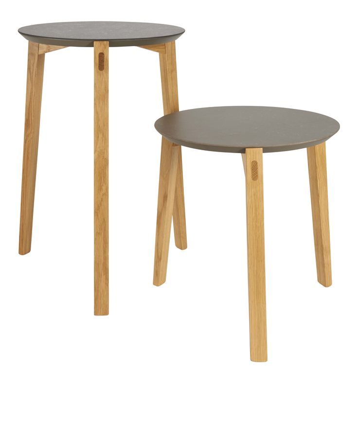 K-stone bord Ø40cm, höjd: 44cm: 917309/917311 1990kr Ø40cm, höjd: 64cm, 917310/917312, 2490kr