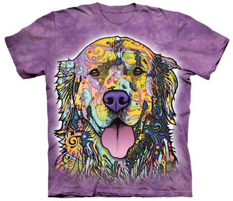 Is Your Golden Retriever Colorful? Then This shirt is for you! NOTE: A donation will be made to Golden Retriever Rescue with each sale. *** IMPORTANT ==>> Check Your Size Chart Click Here! *** THESE a