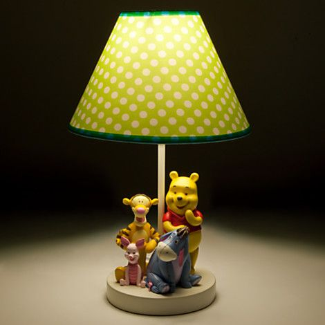 Winnie The Pooh And Pals Lamp For Baby Winnie The Pooh