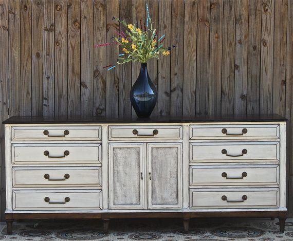 Best Antique White Dresser Vintage Rustic Wood By 400 x 300