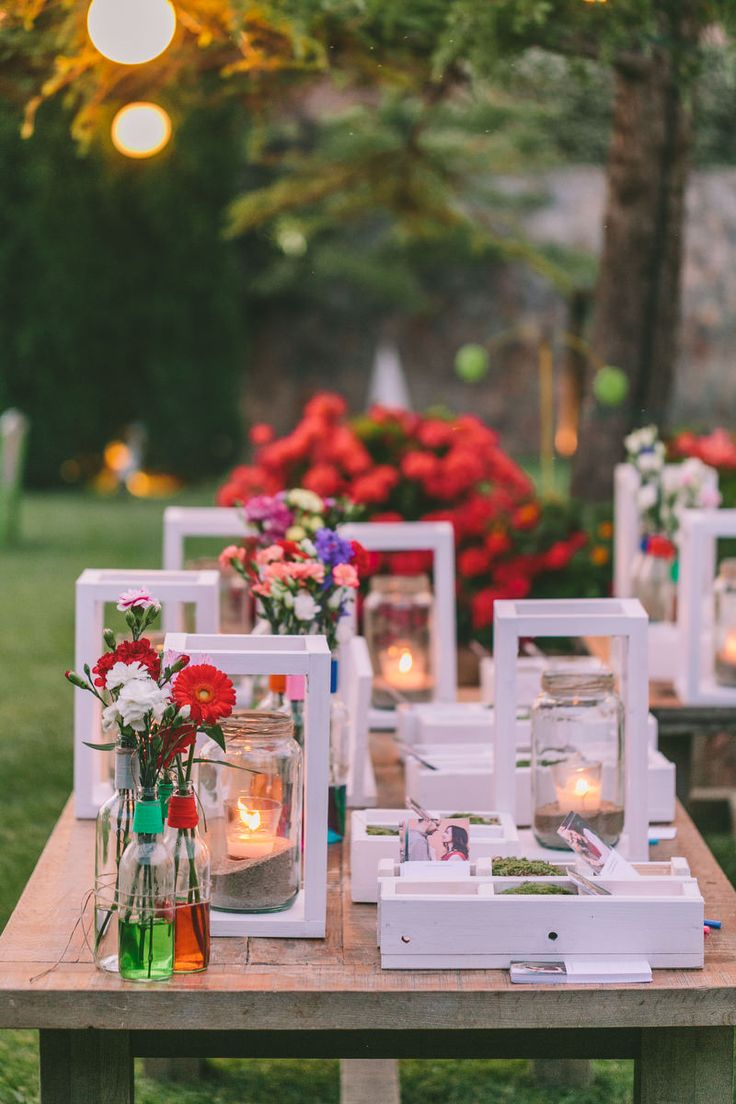 Colorful wedding - Decoration ideas - Find all details and vendors on http://www.love4weddings.gr/the-wedding-real-bride/