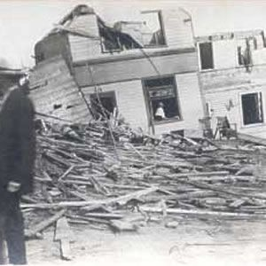 Regina Cyclone June 30, 1912 Just south of Regina, a cyclone took shape during the late afternoon and made its way through the city's business sector, while also taking time to make ruins out of one of the city's wealthiest residential neighbourhoods. When it was over, 28 people had died and another 2,500 had lost their homes.