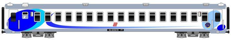 Kereta Bisnis New Gumarang model Pesawat.