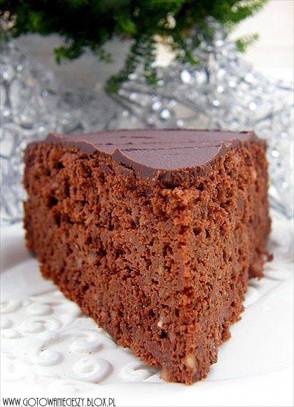 Ciasto czekoladowo dyniowe z pomarańczą