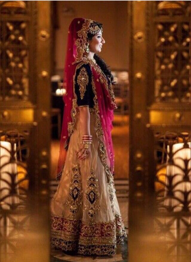 Love the design of this lehenga