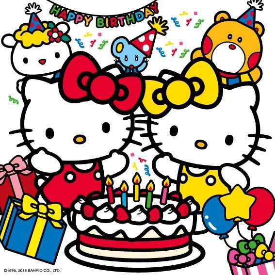 Un joli dessin de Hello Kitty à colorier pour vos enfants!!!