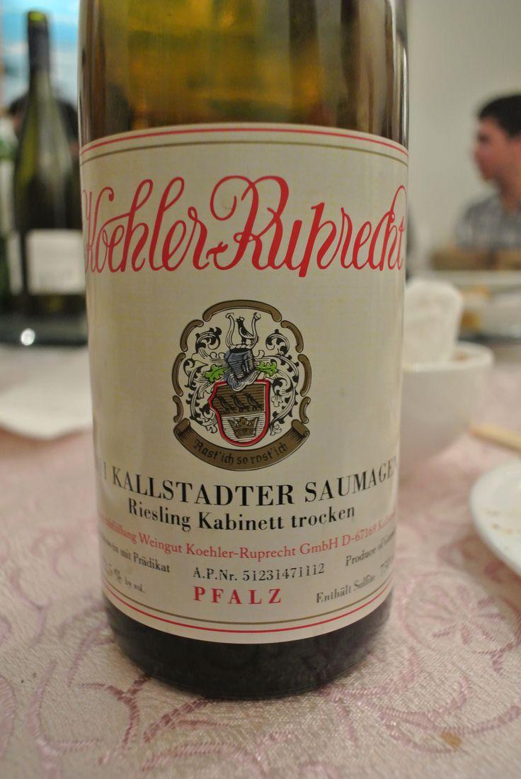 A Yummy German Riesling