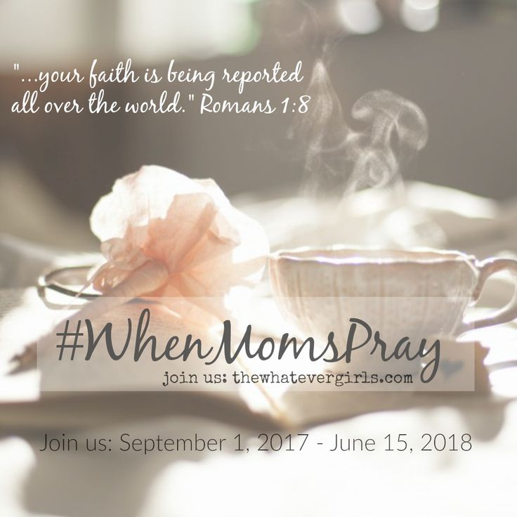 """#WhenMomsPray Day 6: """"She has been given mercy."""" Deuteronomy 7:9 Read more about the prayer challenge here, and join us: http://thewhatevergirls.com/resources/whenmomspray  Join our secure, online prayer group community for mothers of daughters: https://www.facebook.com/groups/374257622668426/  #whenmomspray #WhateverGirls"""