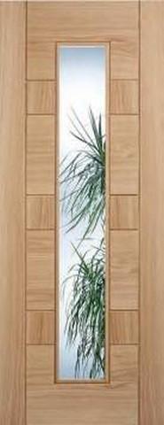 Internal Oak Edmonton glazed door, price: £211.57
