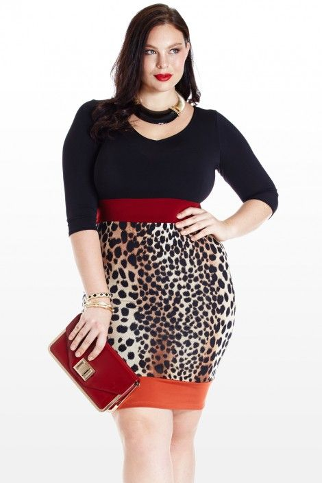 Think animal print looks hot on curvy women i really do and this