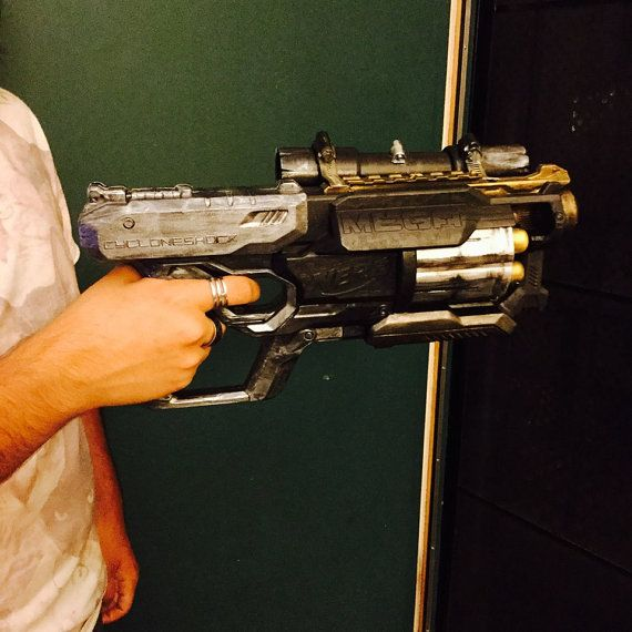Post Apocaliptic Custom Nerf Gun by WastelandWonderland on Etsy