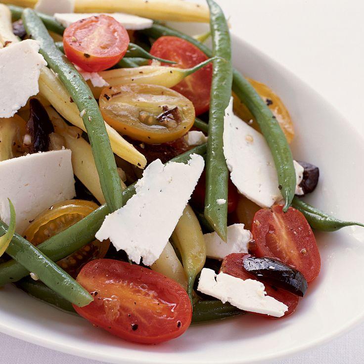 Green and Yellow Bean Salad with Ricotta Salata | Recipe ...