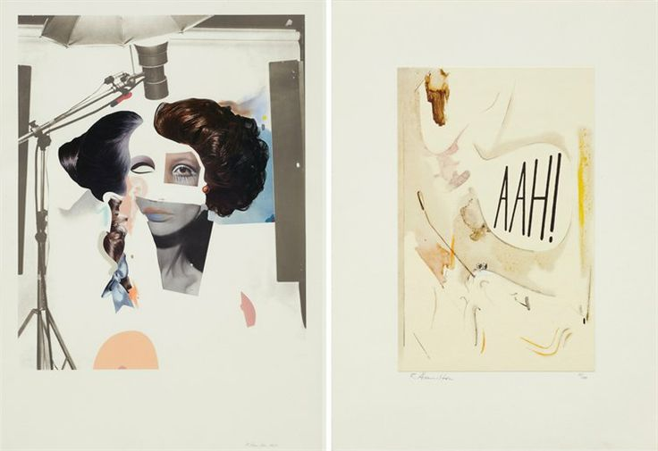 It's your last chance to catch Richard Hamilton at the Alan Cristea Gallery this weekend: from NOWNESS