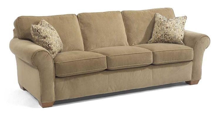 Flexsteel furniture vail collection featuring 3 cushion for Sofa sofa showroom