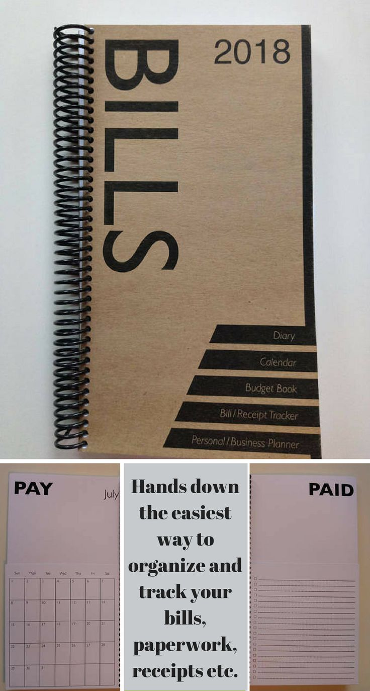 This Bills Book Organizer 2018 Budget Planner is high quality, rugged enough to carry around with you everyday if necessary. Keep your finances in check by having easy access. Could be used to keep track of business or personal paperwork of any kind each month #budget #bills #organizer #planner #book #afflink