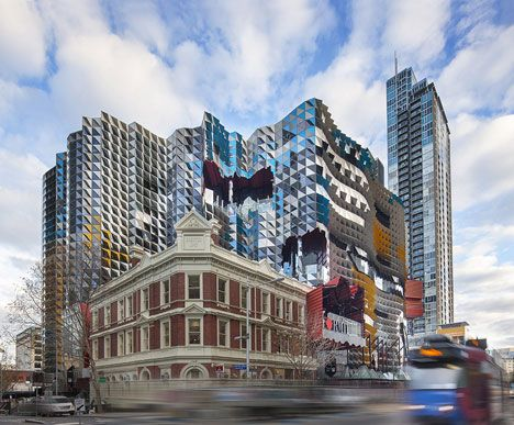 Architectural balls or plain ugly? The latest on Australian #architecture - RMIT Swanston Academic Building by Lyons